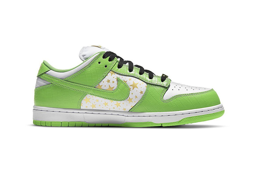 "Supreme x Nike SB Dunk Low ""Green"""