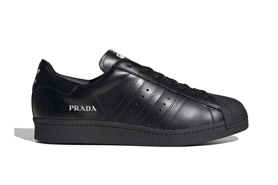"Prada x adidas Superstar ""Black"""