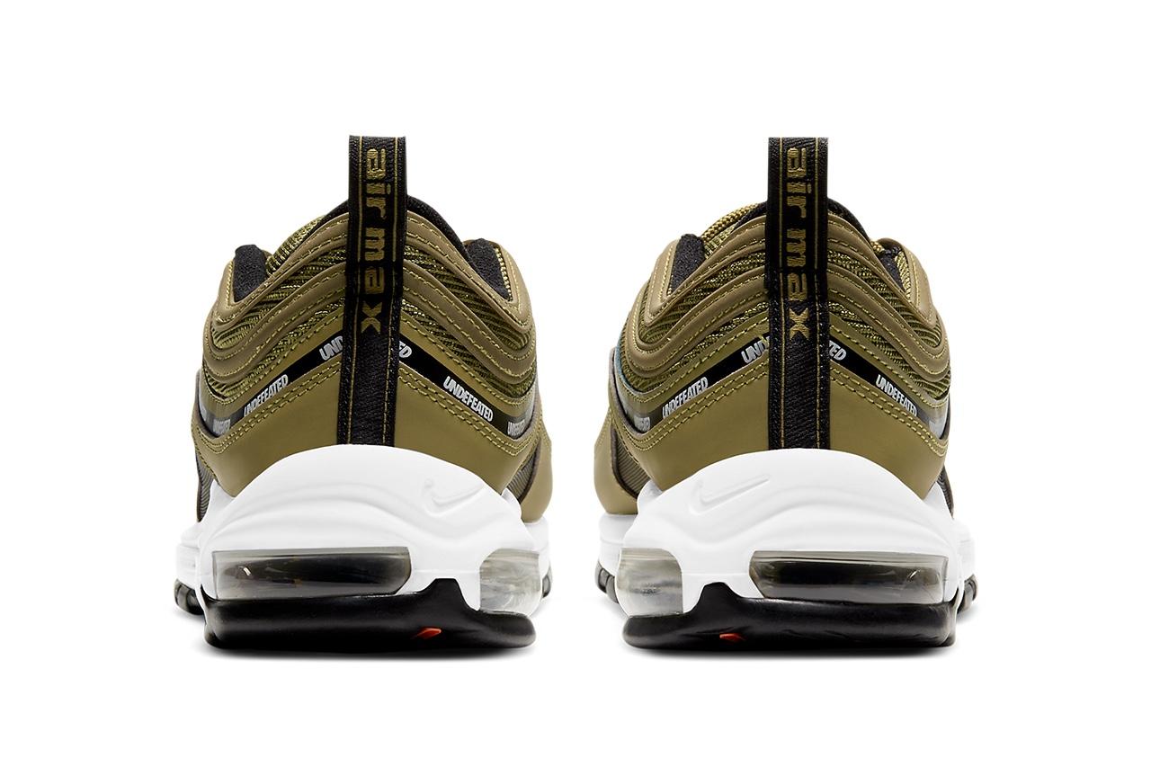 UNDEFEATED x Nike Air Max 97 Militia Green