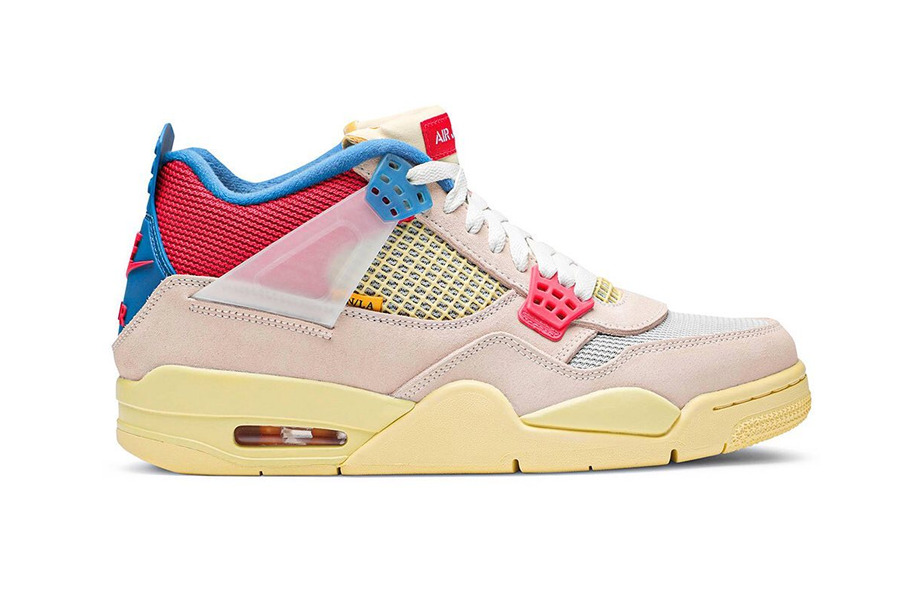 "Union LA x Air Jordan 4 ""Guava Ice"""