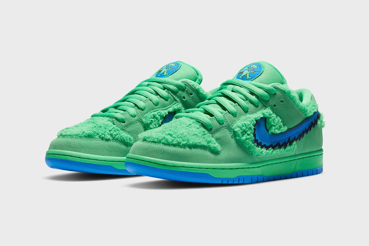Versione Verde Nike SB Dunk Low Grateful Dead