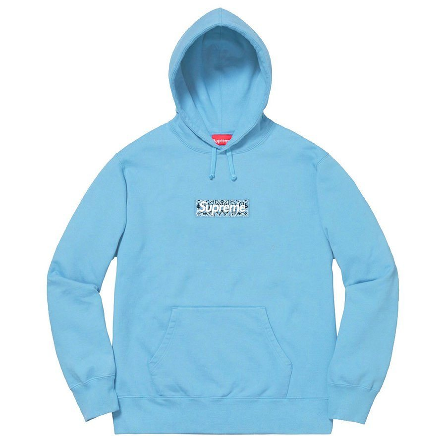 Supreme Bandana Box Logo Hooded Sweatshirt